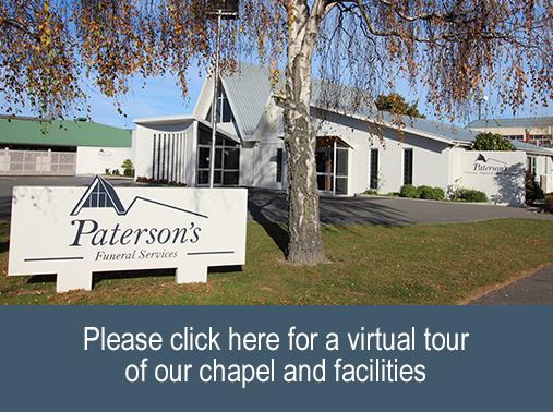 Paterson's Funeral Services Ashburton